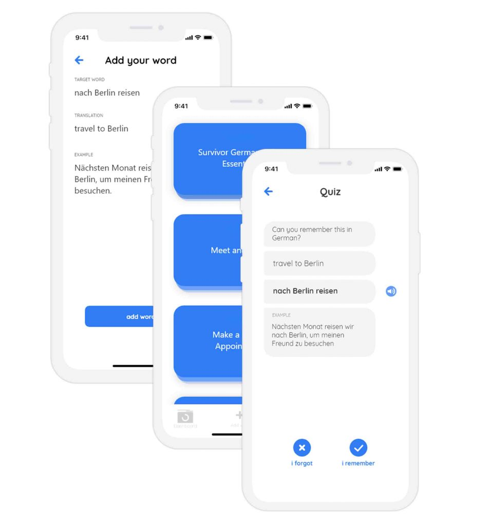 kwiko app uses Spaced Repetition Algorithm