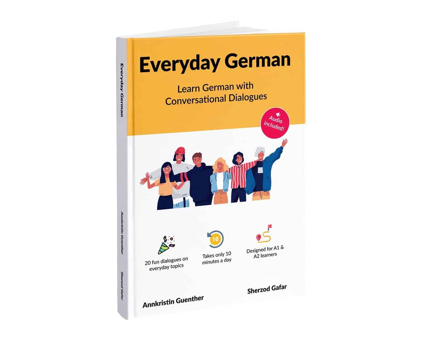 Everyday German - Book cover